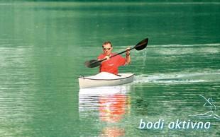 S kajakom po jezeru