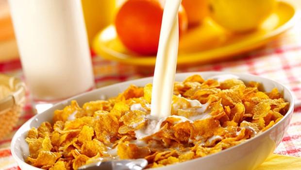 Zajtrk z žitaricami je dobrodošel