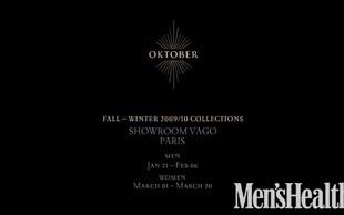 Oktober na Pariškem tednu mode