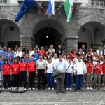 Vse evropske barve pred mestno hišo v Ljubljani (foto: promocijsko)