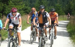Množična kolesarska prireditev na Pohorju