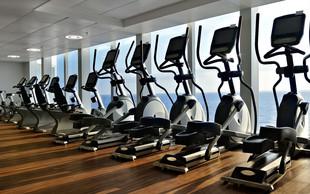 Oprema fitnes centra ter biomehanika vaj