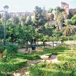 Čudoviti vrtovi v Malagi (foto: Tina Lucu)
