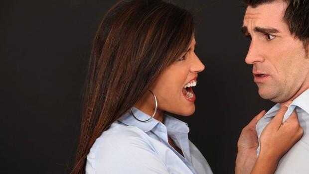 Nasilje ženske nad moškim (foto: Shutterstock.com)