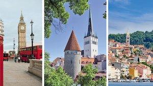 Romantična potovanja za rojene v zračnem znamenju (dvojčka, tehtnica, vodnar) za leto 2012