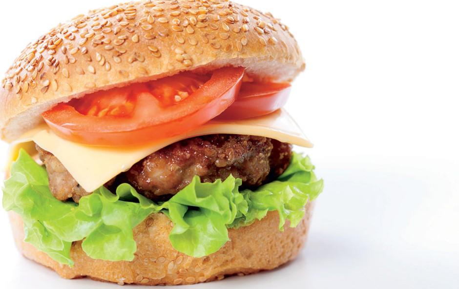 Burger (foto: Arhiv revije Lisa)
