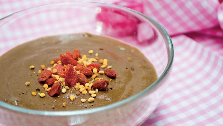 Čokoladni puding s semeni chia  (foto: Luka Amuš)