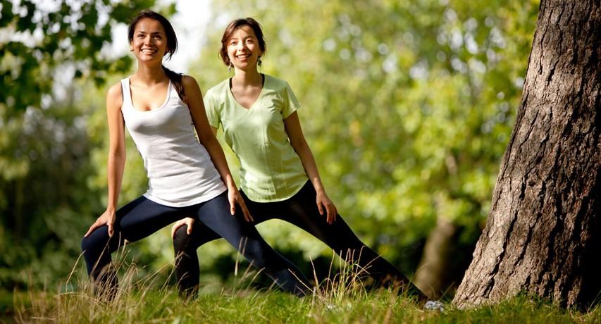 Trening za krepitev telesa v naravi
