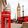 Tri največje značilnosti Londona na enem mestu – telefonska govorilnica, avtobus in Big Bang.