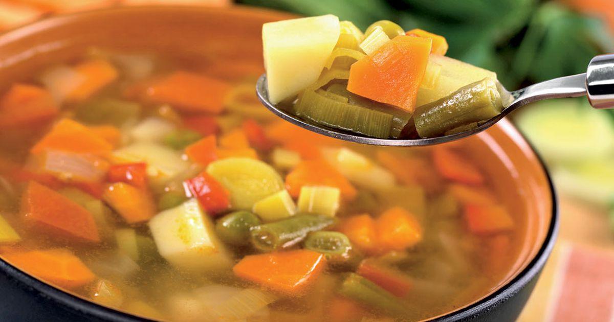 Hitra dieta z zelenjavno juho - Aktivni.si 9602189229