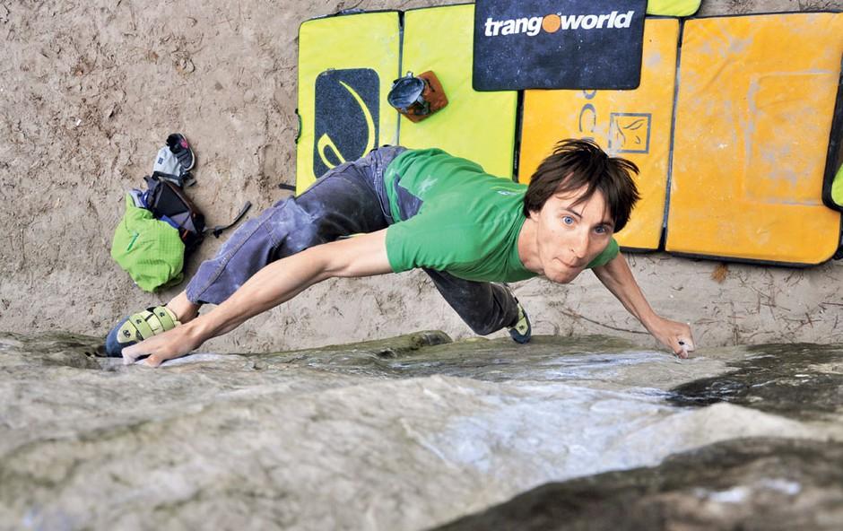 Klemen Bečan, profesionalni plezalec (foto: Helena Kermelj, osebni arhiv)
