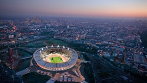 Olimpijski stadium v Londonu.