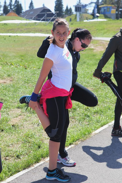 Foto: Aktivni tekaški vikend na Rogli