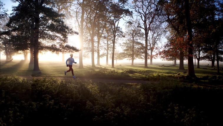 Trening v naravi (foto: Profimedia)