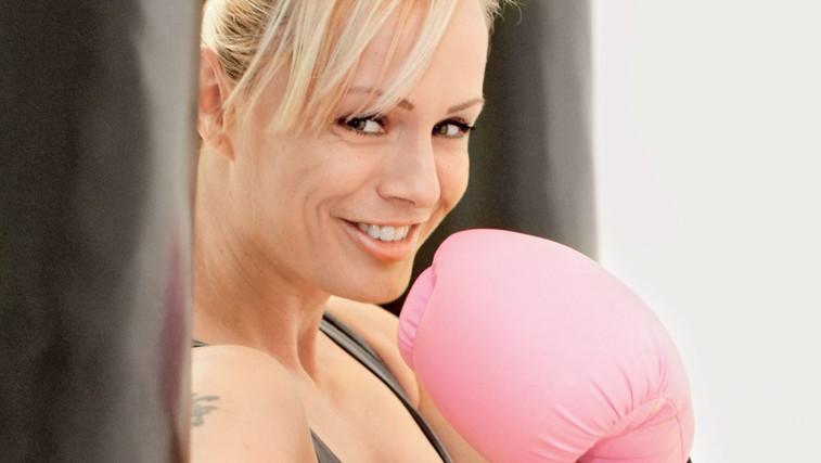 Tamara Smonker, osebna trenerka (foto: Goran Antley)
