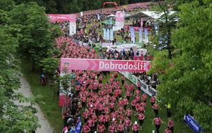Na 7. dm teku za ženske več kot 8 500 tekačic