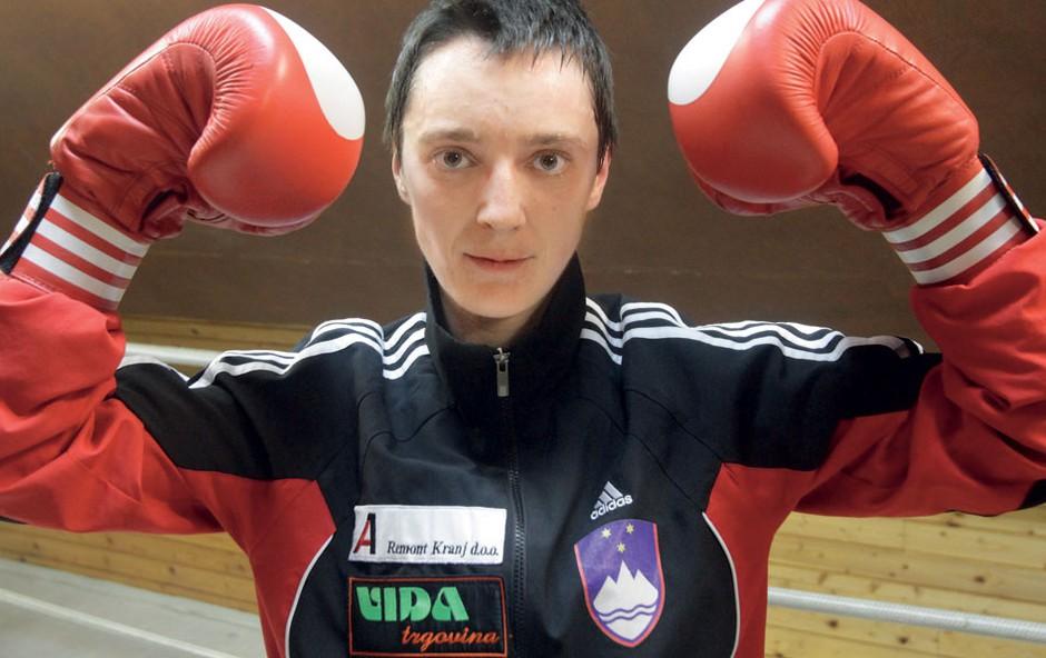 Andreja Bešter - boksarka (foto: Goran Antley, arhiv športnice)