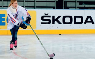 Barbara Kavčič – hokejistka na ledu