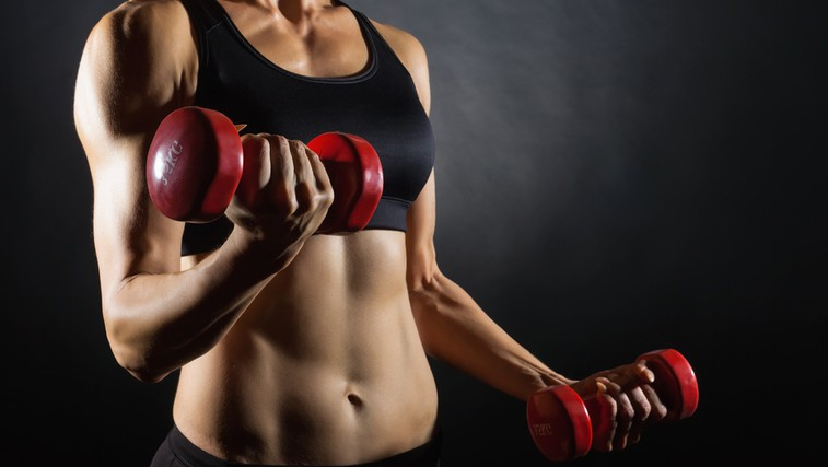 Vaje za lepo oblikovan zgornji del telesa (foto: Shutterstock.com)