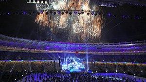 Slovesnost v Kijevu ob zaključku evropskega nogometnega prvenstva 2012.