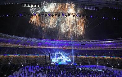 Odprtje olimpijskih iger patriotsko obarvano