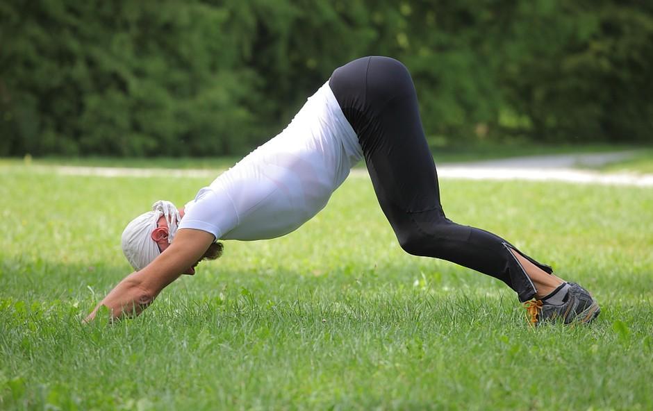 Tek in joga (foto: Aleš Pavletič)