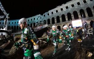 Hokejski spektakel v puljski areni
