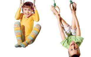 Telovadba za otroke od 4. leta