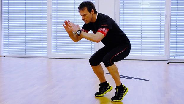 Trening za tekače (foto: Aleš Pavletič)