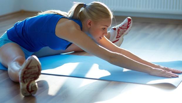 Pasivno raztezanje pred vadbo in po njej - da ali ne? (foto: Shutterstock.com)