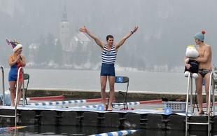 Valentinov pohod ali skok v Blejsko jezero?