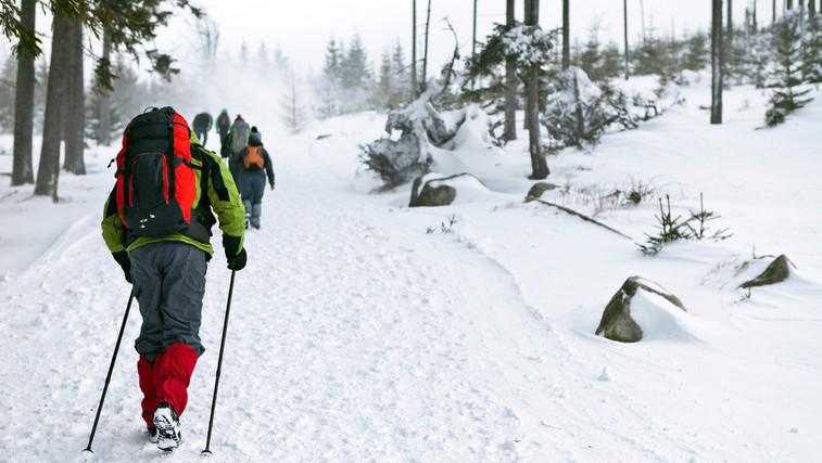 Nordijska hoja ni le hoja s palicami (foto: Shutterstock.com)