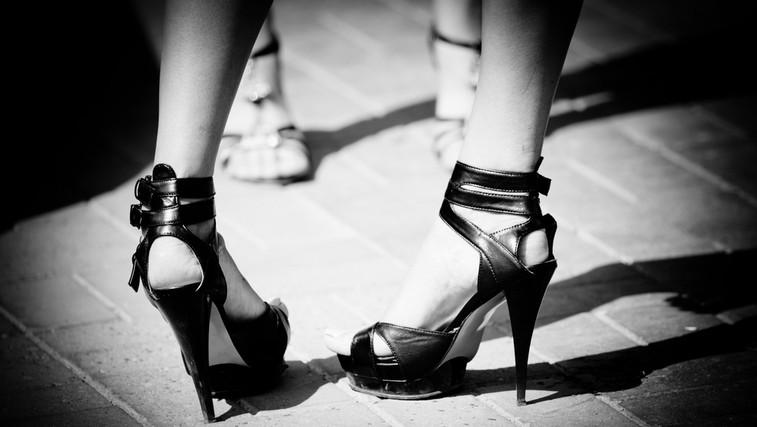 Negativni vplivi čevljev z visoko peto (foto: Shutterstock.com)