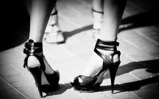 Negativni vplivi čevljev z visoko peto