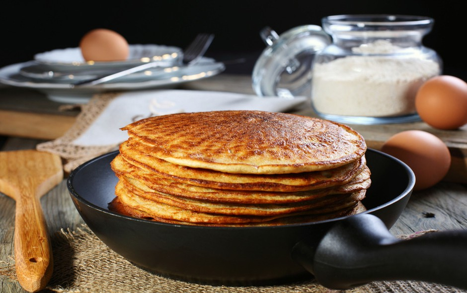 Beljakovinske palačinke (foto: Shutterstock.com)