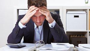 Stres na delovnem mestu.