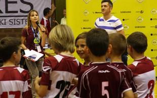 Nepozabno nogometno poletje za otroke iz socialno ogroženih družin