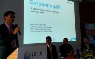 Mag. Stanko Stepišnik izrekel priznanje za delo na projektu @life