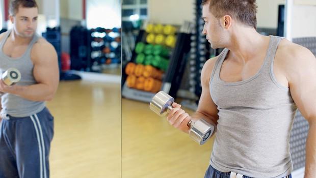 Bigoreksija - obsedenost z mišičastim telesom (foto: Shutterstock.com)