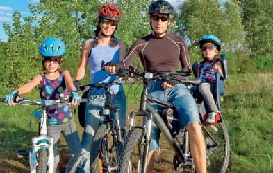 Kolesarske ture za vso družino