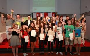 Mladi športniki prejeli priznanja