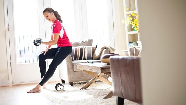Krajši trening z utežmi je prav tako učinkovit (foto: Profimedia)
