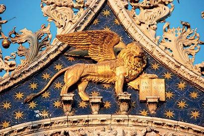 Krilati lev (Benetke, Italija)