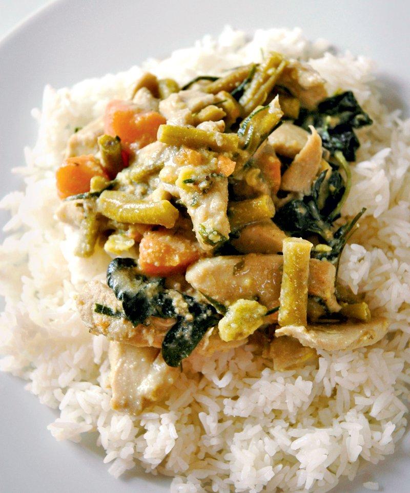 zelenjava s kurkumo