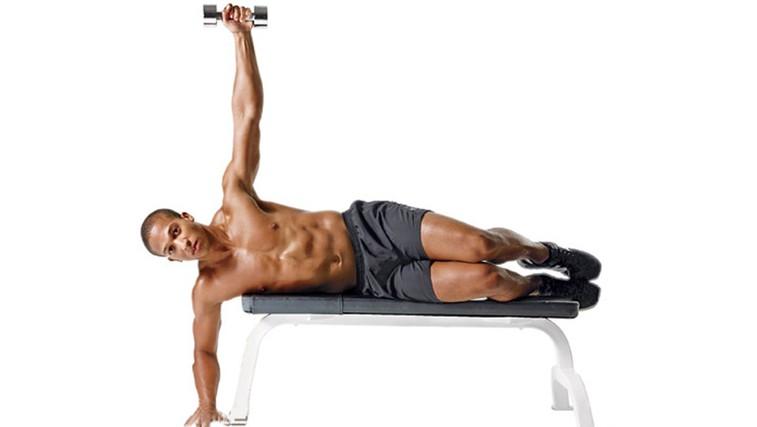 Horizontalni lateralni dvig - za močna in mogočna ramena