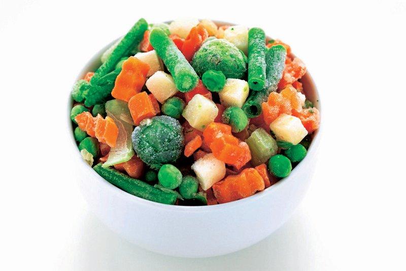 zamrznjena zelenjava
