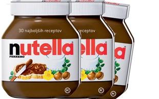 Osvojite knjigo najboljši receptov z Nutello!