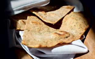 RECEPT: Roti iz pirine polnozrnate moke z drobnjakom