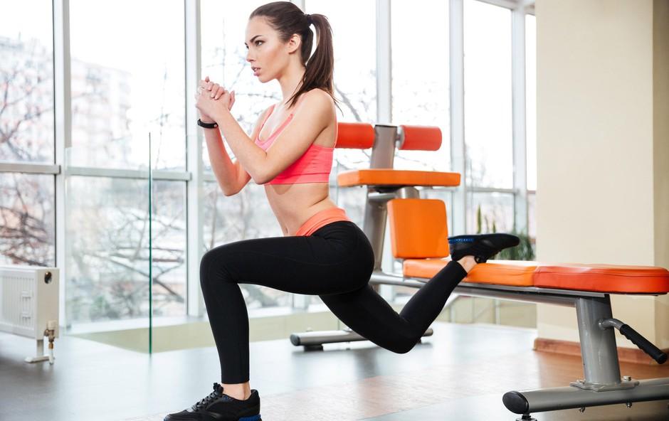 Top trening za krepitev mišic nog in zadnjice (foto: Profimedia)
