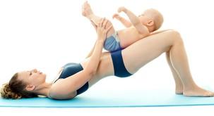 Kakšna naj bo (telo)vadba takoj po porodu